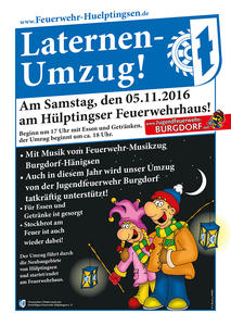Laternenumzug am 05.11.2016 in Hülptingsen