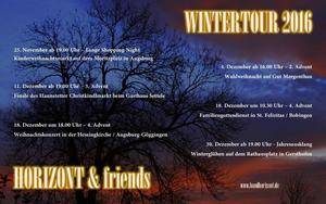 HORIZONT & friends auf WINTERTOUR 2016