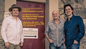 Country-Highlight aus Nashville: Guitars, Songs & Stories  mit Peter Cooper, Eric Brace & Thomm Jutz