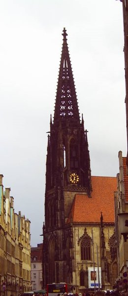 kirche, st-lamberti, münster-westfalen, april-2006