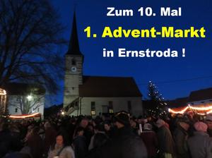 1.Advents-Markt 2016 in Ernstroda ( zum 10. Mal )