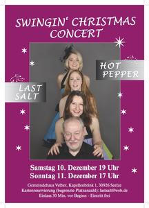 "Swinging Christmas mit ""Last Salt"""