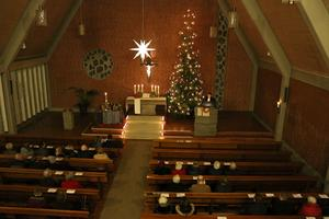 Christmette in der Martin-Luther-Kirche