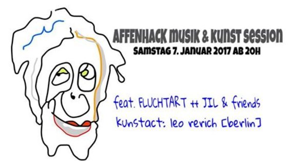 'Musik und Kunst Session' am 07.01.17 in den Herner Affenhack Studios