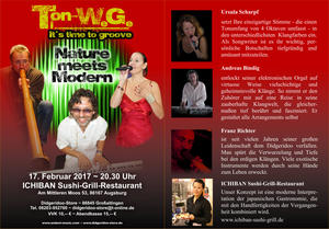 Konzert Ton WeGe It´s time to groove