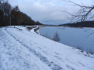 Winter am Twistesee.