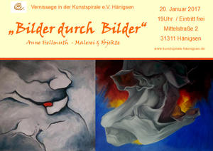 AbendKulturReihe Kunstspirale e.V. 'Bilder durch Bilder' von Anne Hellmuth