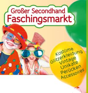 Großer Secondhand-Faschingsmarkt in Anwalting