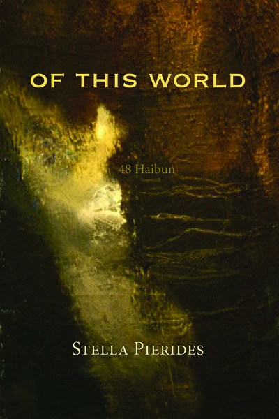 Neues Buch 'Of This World' by Stella Pierides (Red Moon Press, 2017)