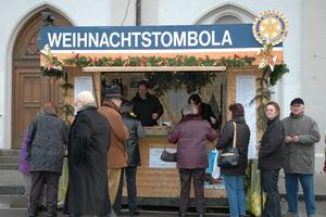 Traditionelle Rotary-Weihnachts-Tombola