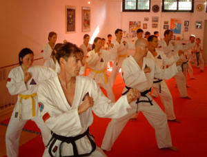 Taekwondo Prüfungen bei Self Defense Germany