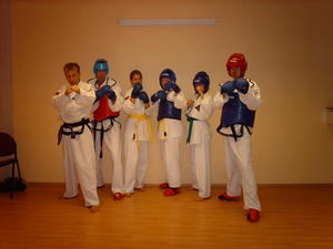 Taekwondo Kampftraining bei Self Defense Germany