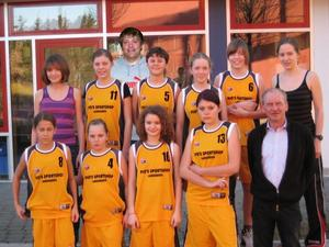 124 Punkte Differenz - Landsbergs U14-Basketballerinnen besiegen Althegnenberg 154:30