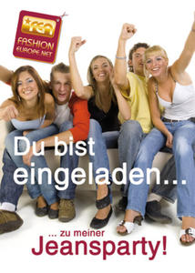 Jeans Party´s der neuste Hit