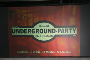 Undergroundparty in Neusäß