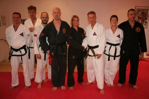 Neuer Combat Hapkido Schwarzgurt bei Self Defense Germany