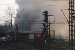 Feuer in Burgdorf