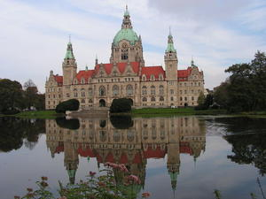 Das Rathaus in Hannover