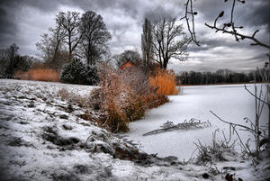 Heiliger See im Winter