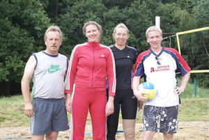 Wedemark - Meisterschaften im Beach - Volleyball Sa., den 20.06.09