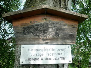 In memoriam Wolfgang W. (Pedalritter)