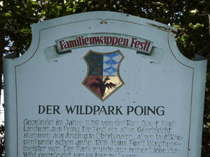 Ausflug in den Wildpark Poing