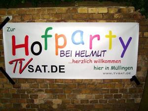 15./16.08.2009: Hofparty in Müllingen