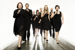 Kum-Ba-Yah-Chor singt mit den Swingle Singers am 26. September