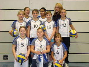 Gersthofer D-Volleyballjugend in Bezirksklasse