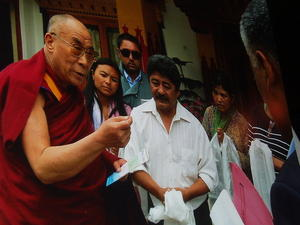 Der Dalai Lama in Birkenried