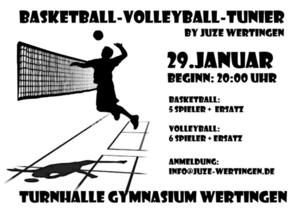 Volleyball/Basketballturnier by Juze-Wertingen