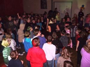 Kinderdisco in Bordenau 2009