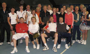 Tennisclub Godshorn spielte Winter-Mixed