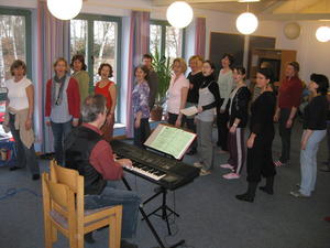 Gospelchor 'Voices of Joy' auf Intensiv-Chorfreizeit