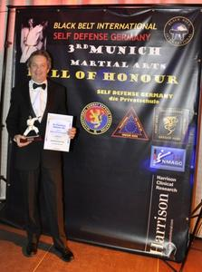 Self Defense Germany Black Belts in die Hall of Fame aufgenommen