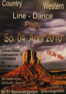 Country-Western- Line-Dance Party