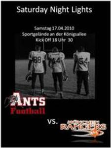 Ants Juniors vs. Munich Rangers