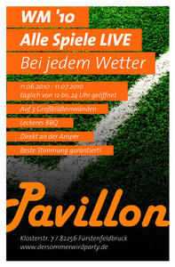 WM 2010 - Public Viewing im Pavillon FFB