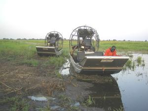 Airboat = Sumpfboot?