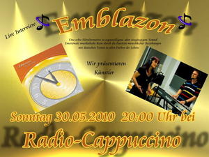 Emblazon 'on air' / Sondersendung mit Albumvorstellung