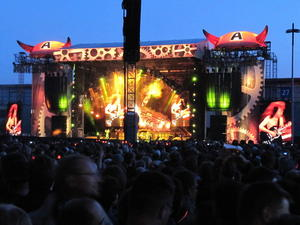 Open - Air Konzert AC/DC in Hannover