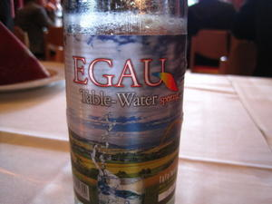 Welcome to our Egau-Radweg with Egau Table Water