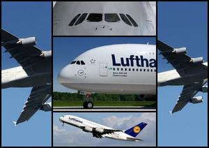 Airbus A380 zu Gast in Hannover