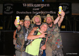 Intruder & Chopper Open-Air 2010 auf Schloss Scherneck: 'Born to be wild!'