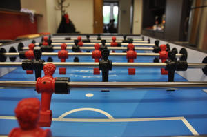 Fireball Home - Table soccer at CDTM reaches the next level
