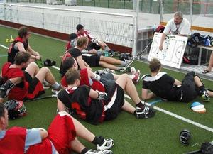 Saints Trainingslager mit US-Coach Hillary Cardwell