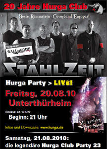 20 Jahre Hurga Club - Party mit Live Bands