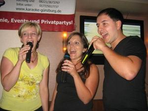 Karaoke Party im Café Latino in Illerrieden