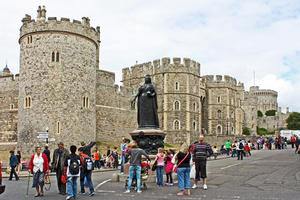 Windsor Castle. Königin Victoria.