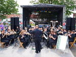 das Orchester in Aktion